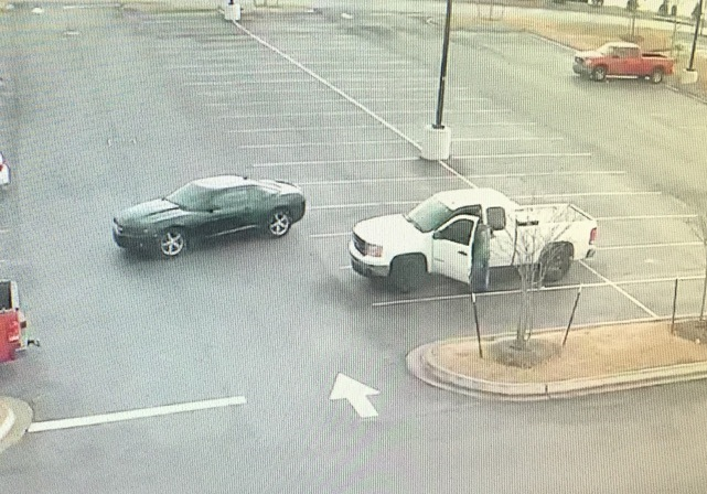 Suspect Vehicles at Academy Sports