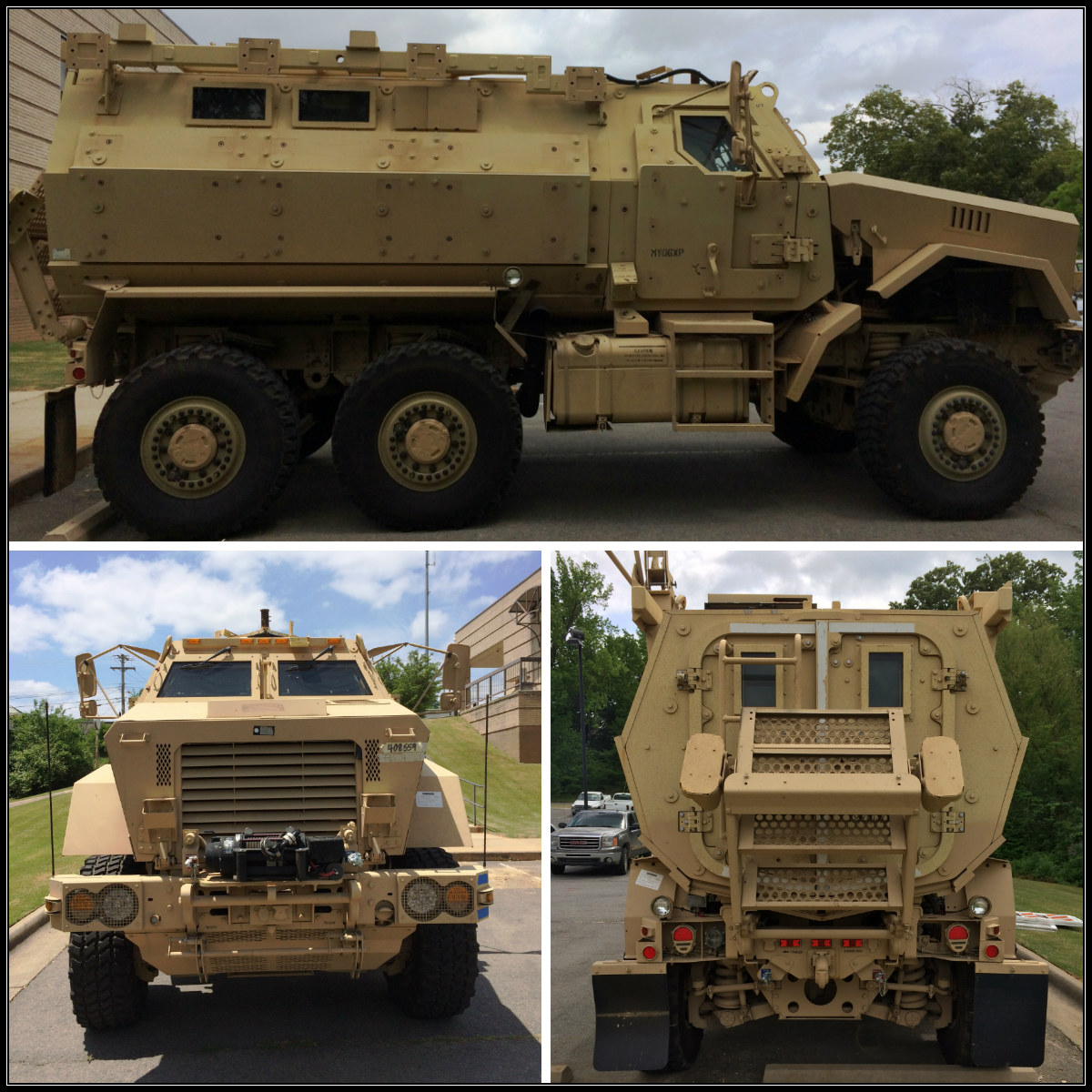 MRAP-Collage