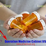 LOCATION SET FOR OPERATION MEDICINE CABINET XIV