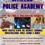 BNPD TO HOST 15TH ANNUAL CITIZENS POLICE ACADEMY