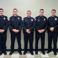 FIVE BNPD OFFICERS GRADUATE FROM LAW ENFORCEMENT TRAINING ACADEMY