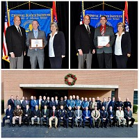 TWO BNPD OFFICERS GRADUATE FROM ADVANCED SUPERVISION COURSE