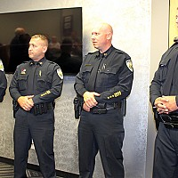 BNPD OFFICERS RECEIVE PROMOTIONS (Sept. 2017)